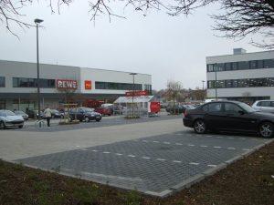 Parkplatz REWE